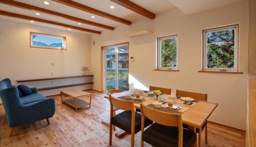 【飛騨産業の納品事例③】ナチュラルな床が素敵な新築にchigusa(チグサ)のダイニングを納品させて頂きました