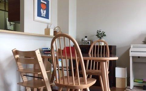 【飛騨産業の納品事例⑥】飛騨の家具で北欧テイストのダイニング♪変形テーブルと丸みのあるチェアを納品