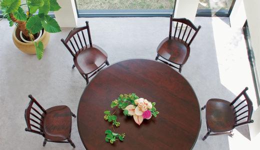 無垢材・国産の丸テーブルを買うなら、飛騨産業がおススメ